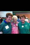 Alumni annual Open House at the AHS new cafeteria with Libby Altwegg, Sterling Workman, Ana Pettit  6.26.13